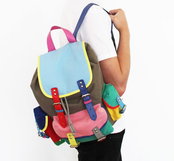 Lazy Oaf 'In The Mix' Rucksack's