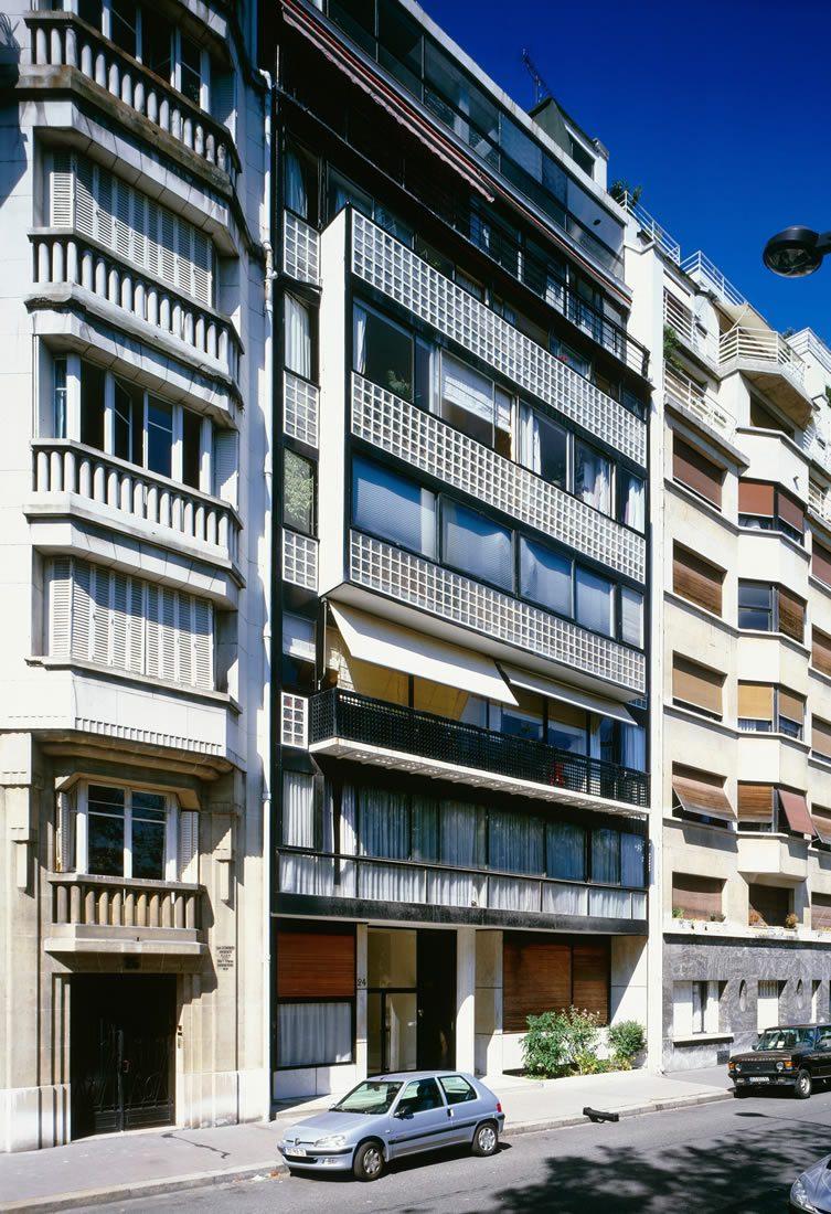 Immeuble locatif à la Porte Molitor, Paris