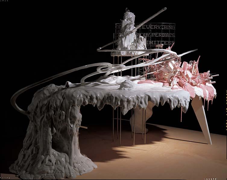 Maquette for Mon grand récit, 2005