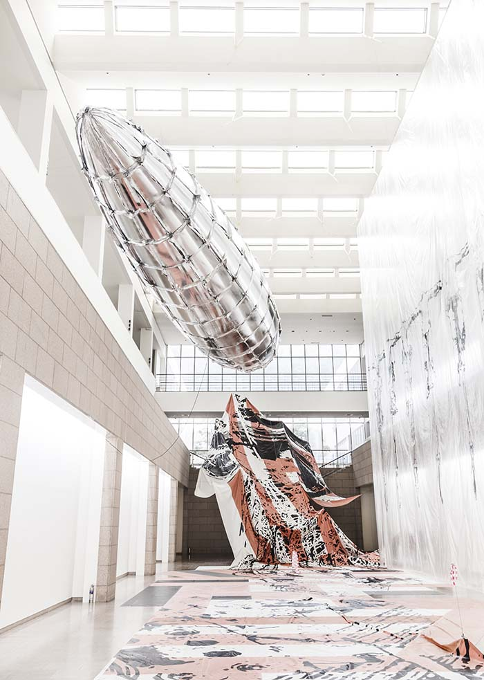 Lee Bul, Utopia Saved at The Manege, Central Exhibition Hall, St. Petersburg