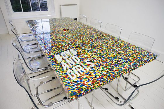 Boys and Girls Boardroom Table by abgc
