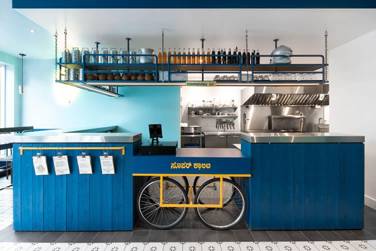 Le Super Qualité Montreal: Cook Caravan Restaurant Designed by David Dworkind