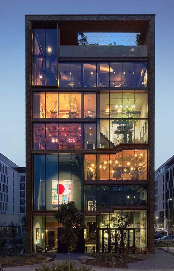 Lindley Lindenberg Frankfurt Design Hotel by Franken Architekten, Exitecture and ABERJA