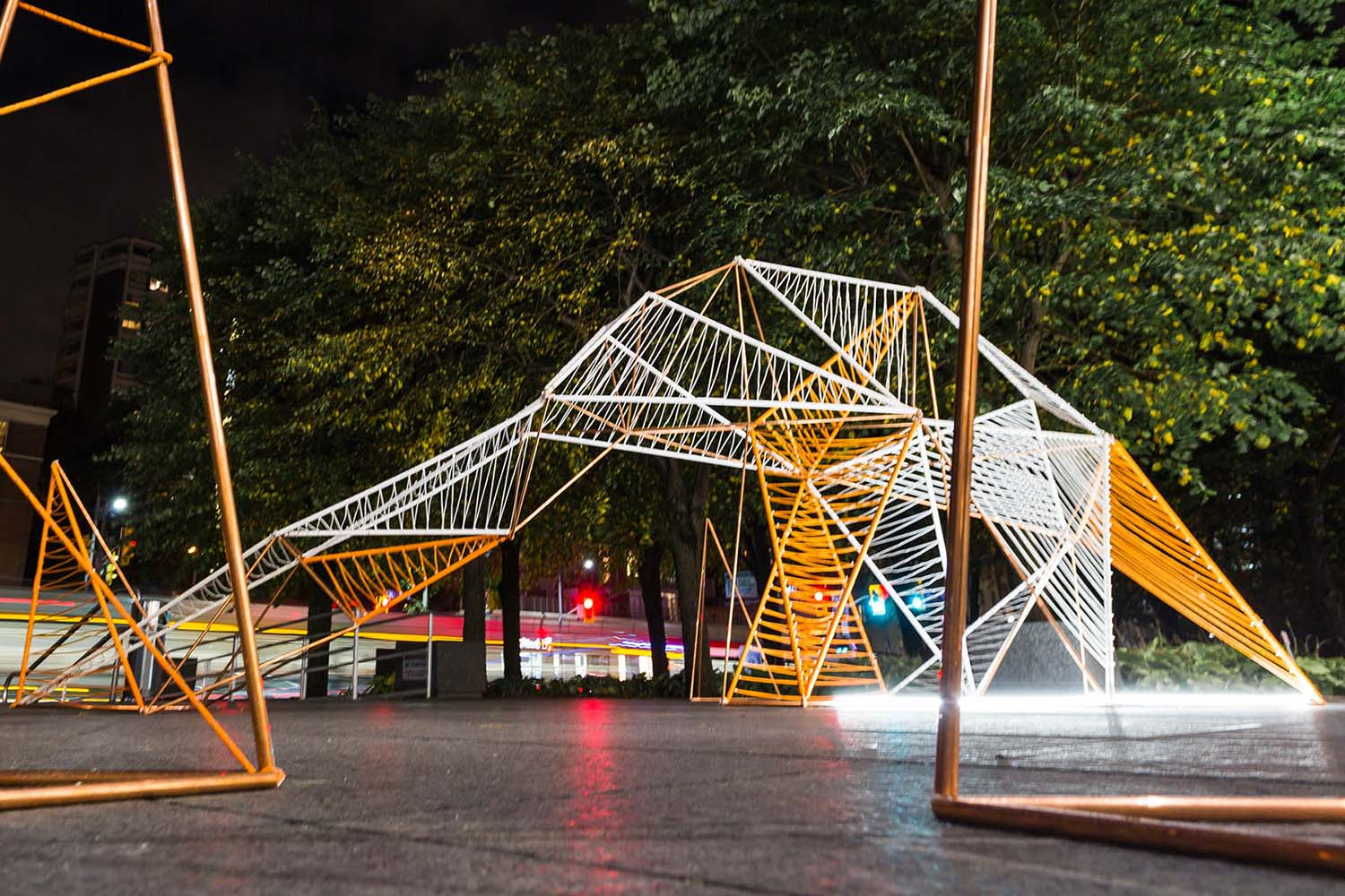 Crystal Lighting Art Installation by Nargiza Usmanova, Winner in Lighting Products and Lighting Projects Design Category, 2020—2021