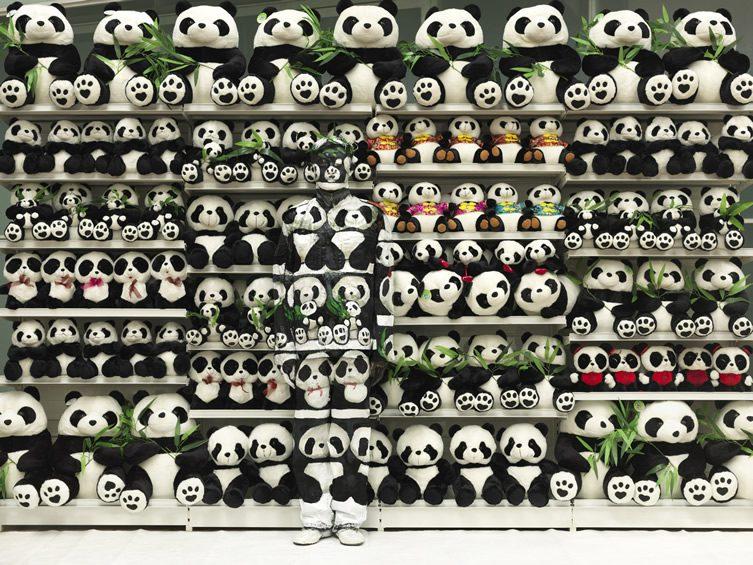 Liu Bolin at Galerie Paris-Beijing