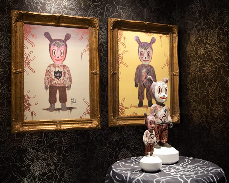 Gary Baseman, The Guest for Lladró Atelier