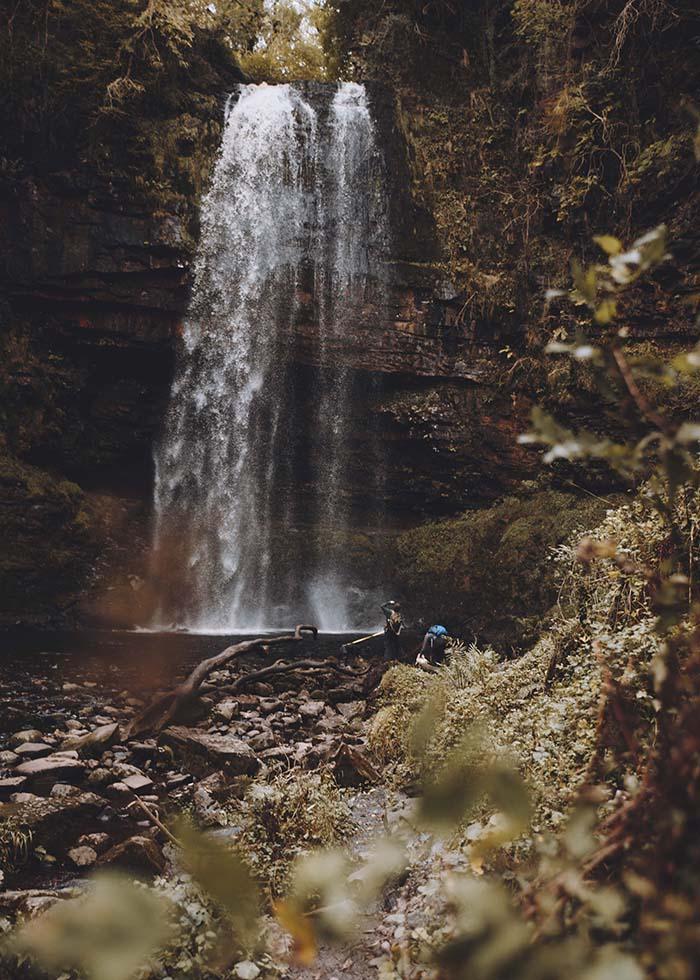 Henrhyd Falls by Beth Squire