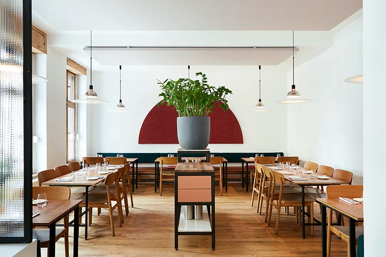 Lode & Stijn Berlin, Kreuzberg Restaurant by Lode van Zuylen and Stijn Remi