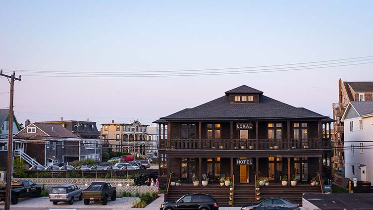Lokal Hotel Cape May, New Jersey Seaside Resort Design Hotel