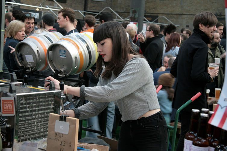 London Brewers' Market, Old Spitalfields Market