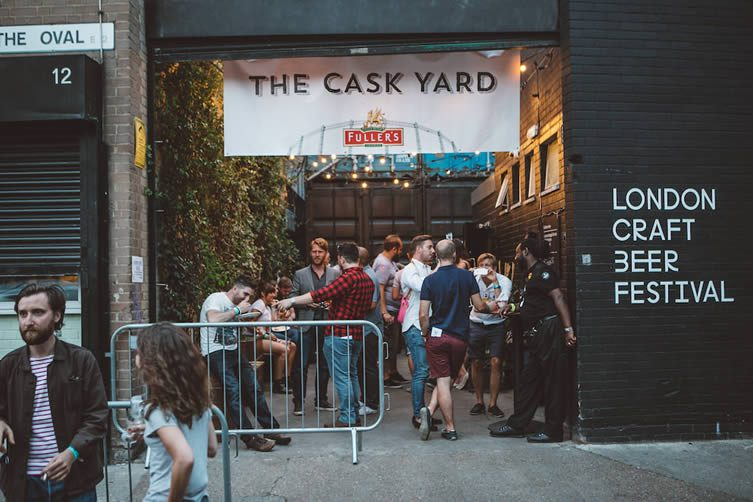 London Craft Beer Festival, Shoreditch Electric Light Station, Hoxton Square