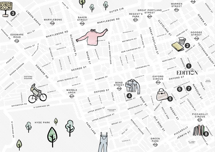Charlotte Trounce Map