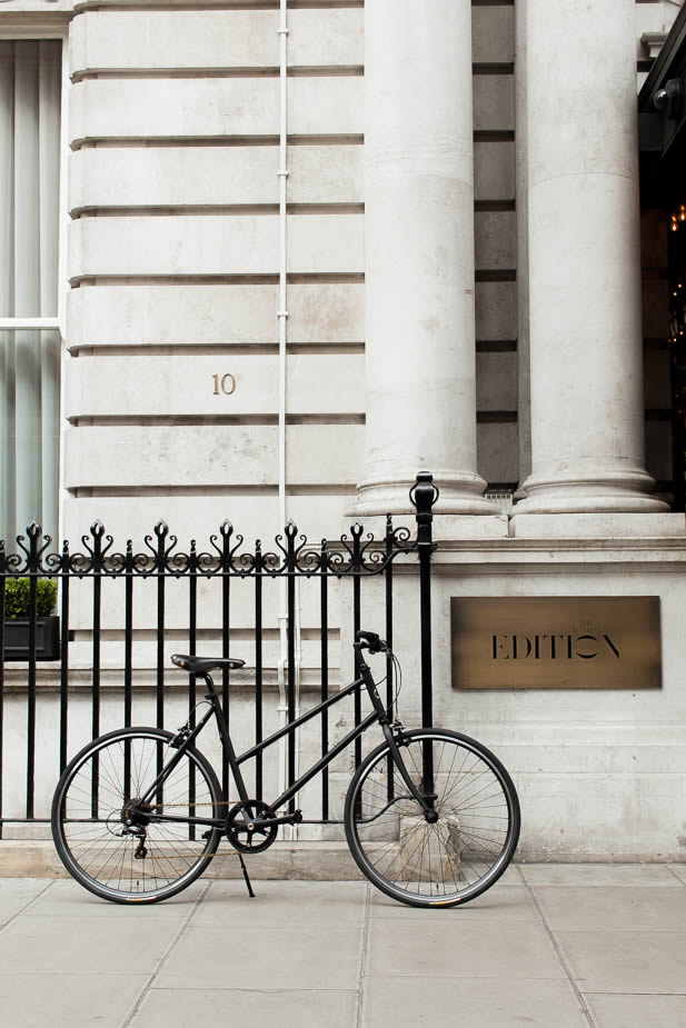 EDITION x tokyobike: The London EDITION and tokyobike Fitzrovia