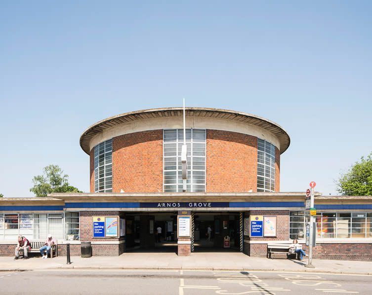 Arnos Grove by Charles Holden