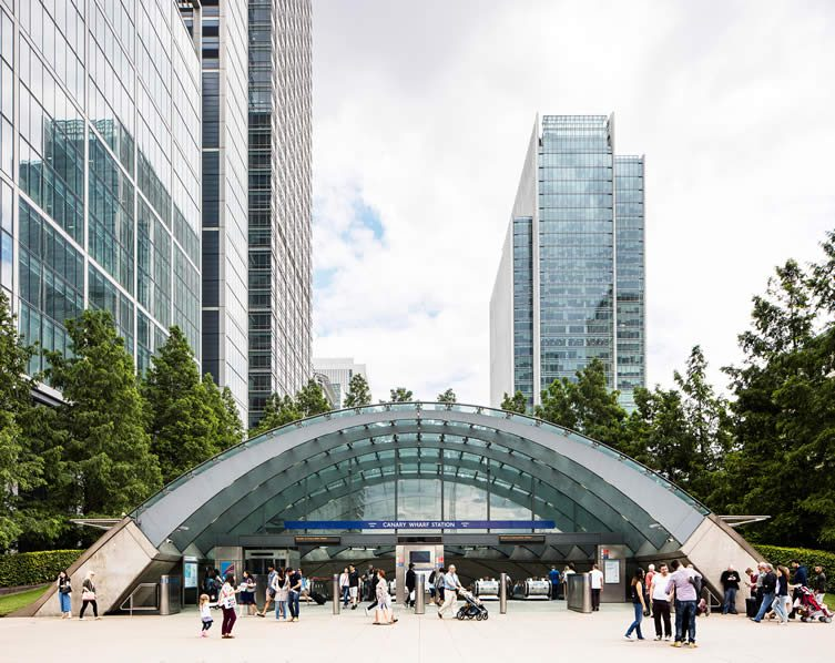 Canary Wharf by Norman Foster