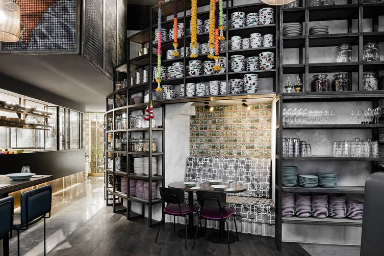 Long Chim Melbourne: Crown Melbourne Riverwalk Thai Restaurant Technē Architecture + Interior Design