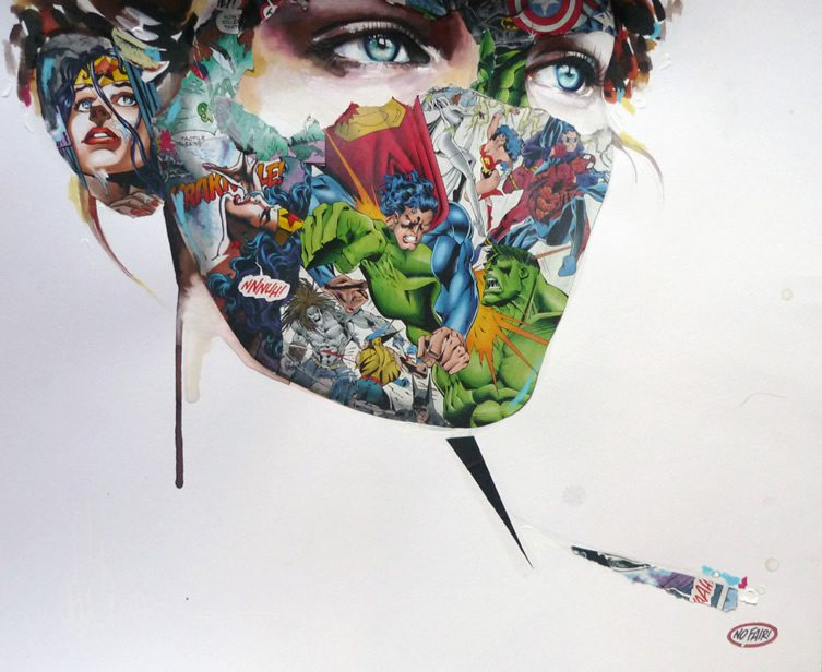 Lora Zombie and Sandra Chevrier: POW! POW!