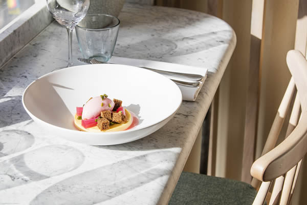 Lorne Restaurant, Victoria London: Katie Exton and Peter Hall