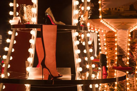 Christian Louboutin at the Design Museum