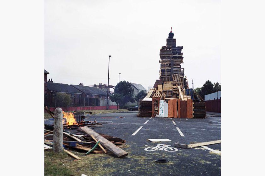 Loyalist Bonfires, Declan O'Neill