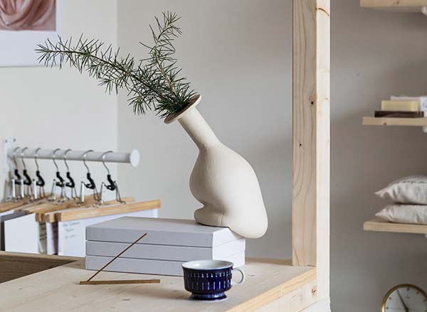 LUX Pop-Up Stockholm, Art and Design Christmas Pop-Up Shop by Design studio TypeO, vintage dealer Temporärt, and art dealer The Ode To
