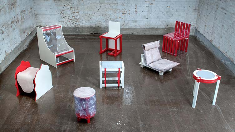 Malmö Upcycling Service x Stockholm Furniture Fair, Circular Economy Interior Design Project