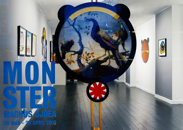 Magnus Gjoen Monster Hang-Up Gallery Stoke Newington London