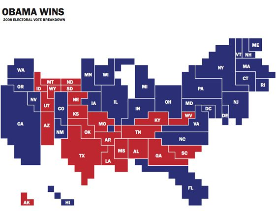 Mapping America