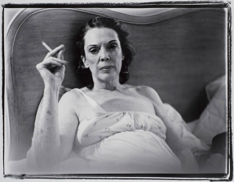 Marilyn Minter, Coral Ridge Towers (Mom Smoking)