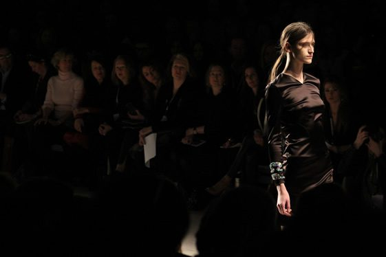 London Fashion Week; Marios Schwab
