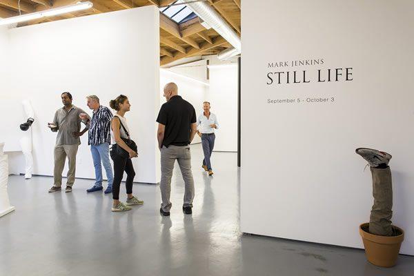 Mark Jenkins, Still Life at Fabien Castanier Gallery, Culver City