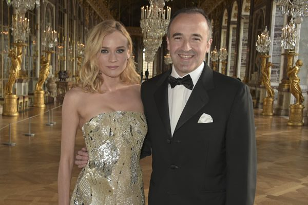 Diane Kruger and Philippe Guettat