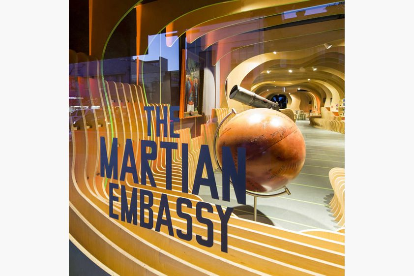 The Martian Embassy, Sydney