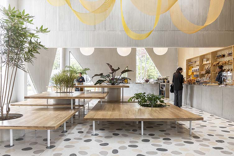 Masa Bogota, Panadería, Café, Repostería Designed by Studio Cadena for Silvana and Mariana Villegas