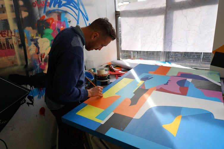 Maser in the studio