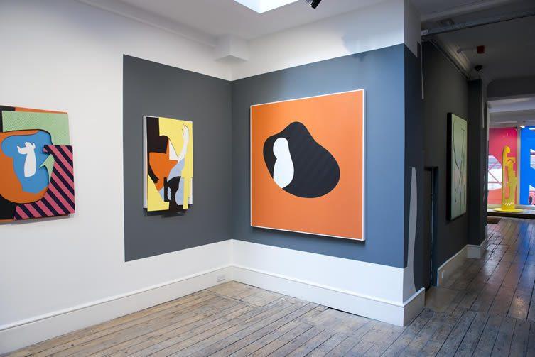 Lazarides Gallery installation