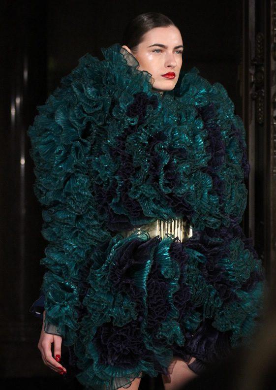 London Fashion Week; Mattijs Van Bergen