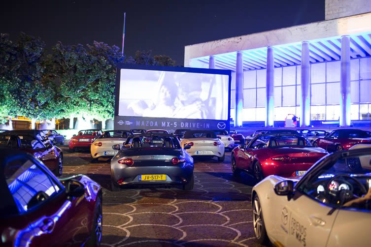 Mazda Drive-In Cinema Rome