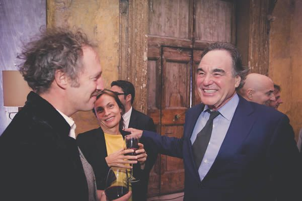 Oliver Stone at the Rome Film Festival