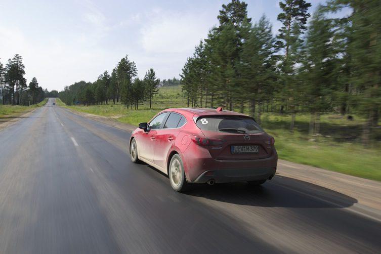 Mazda Route3, Day Three: Chita to Ulan-Ude