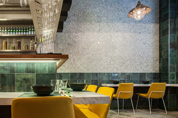 Mean Noodles Hong Kong, Sheung Wan Noodle Restaurant Designed by OPENUU