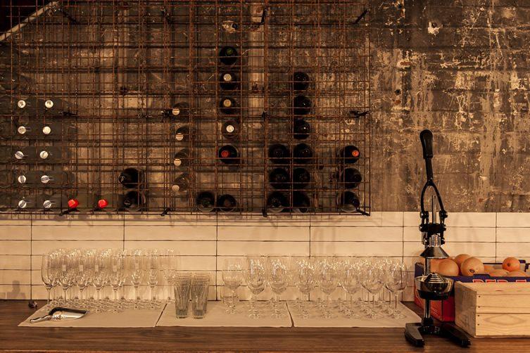 marvelous wine bar interior design