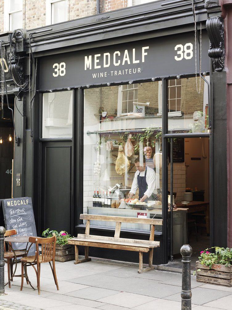 Medcalf Traiteur Exmouth Market, London
