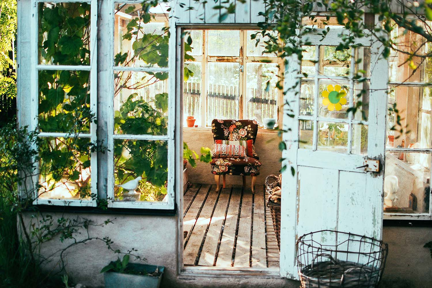 How to Turn Your Backyard into a Meditation Space