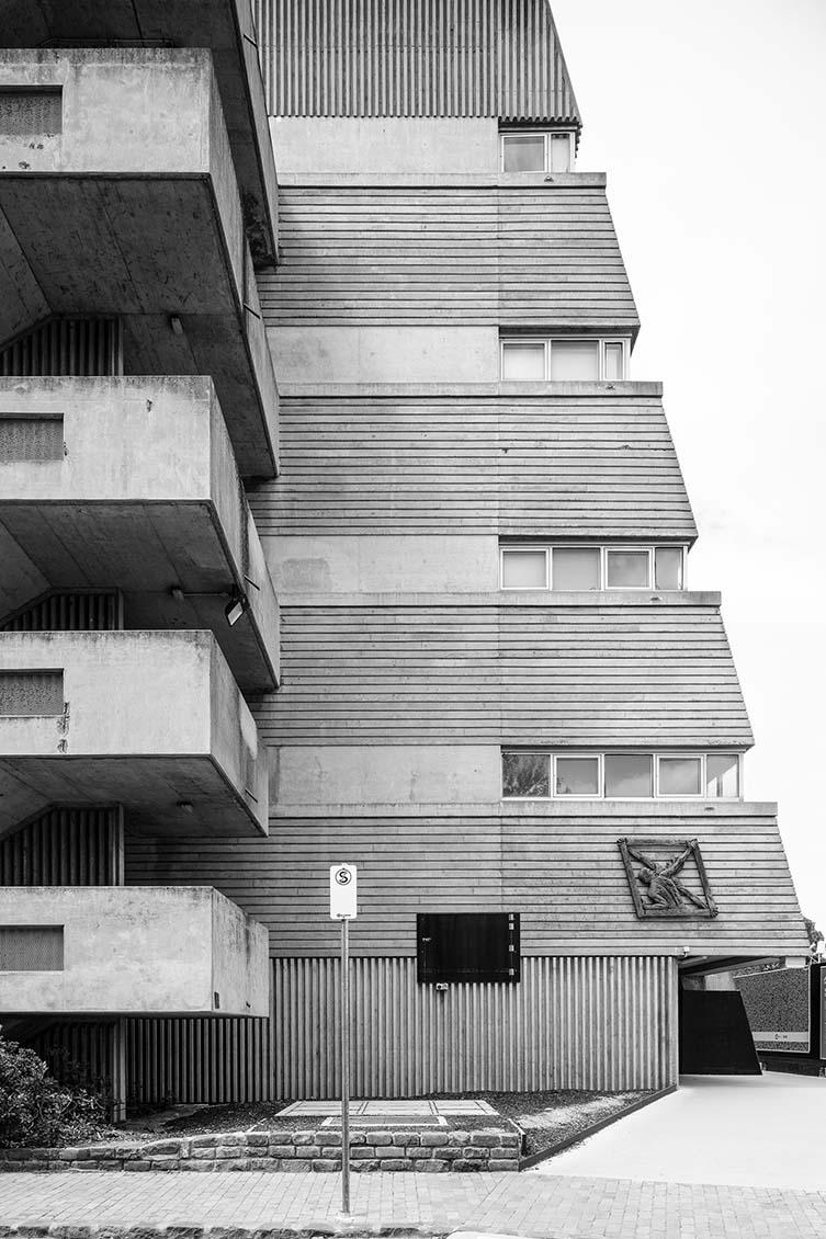 Engineering Block, University of Melbourne, Civil & Civic, 1973-74