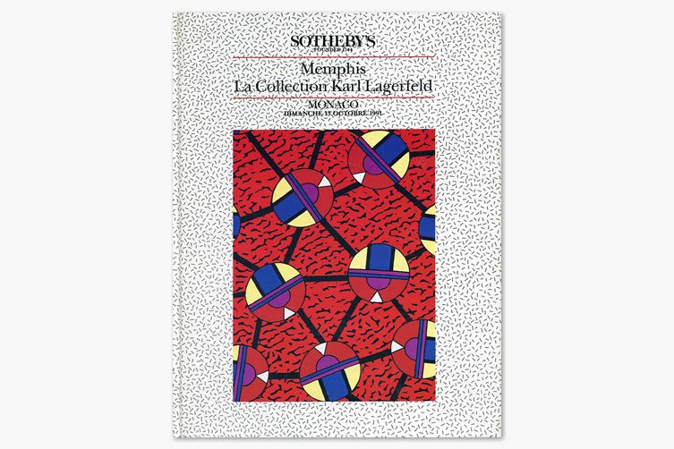 Memphis, La Collection Karl Lagerfeld