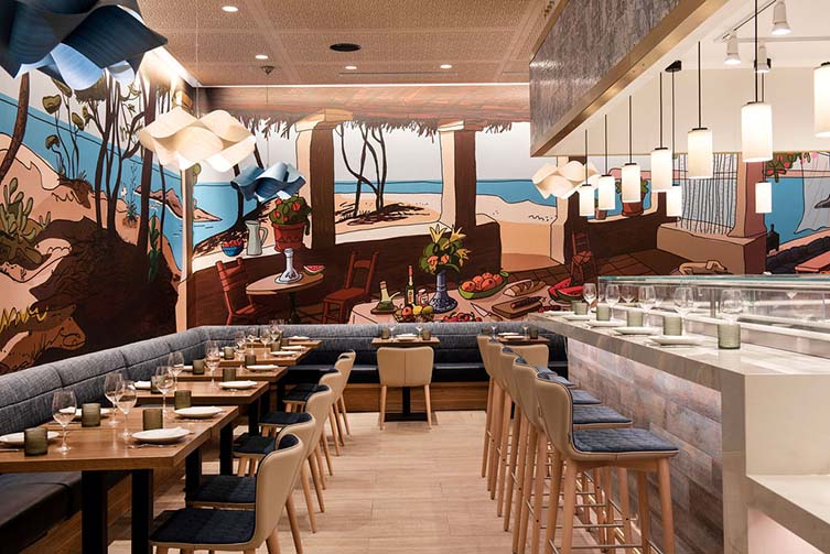 Mercado Little Spain, New York, Hudson Yards Restaurant by José Andrés with Ferran Adrià and Albert Adrià