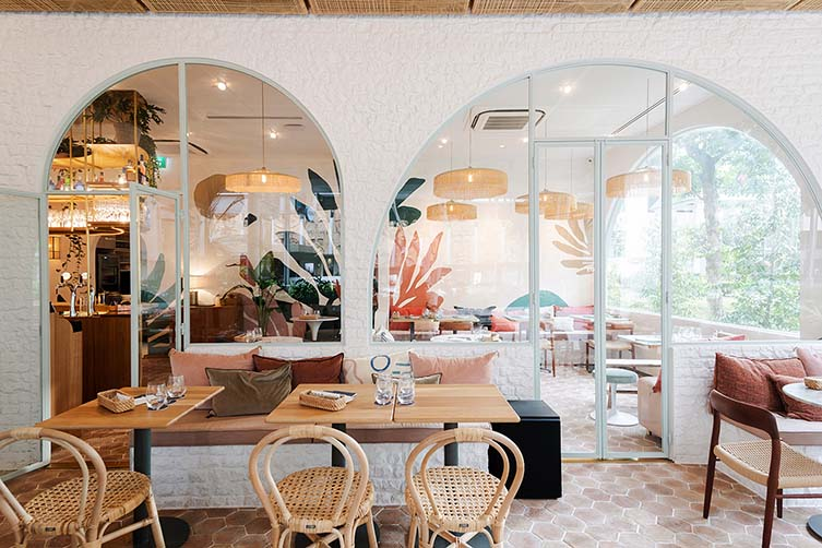 Merci Marcel Orchard Road, Singapore Restaurant by Hui Designs