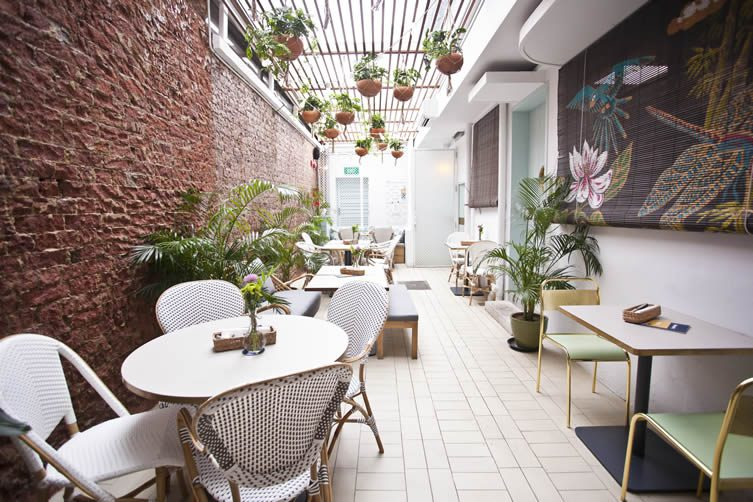 Merci Marcel Singapore Tiong Bahru Restaurant By Hui Designs