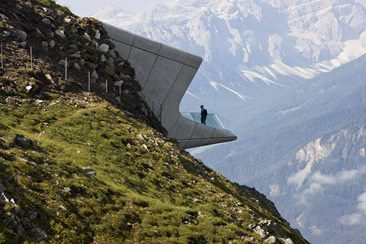 Messner Mountain Museum Corones, South Tyrol, Italy